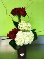 Roses Hydrangea