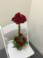 RUSTIC ROSE TOPIARY