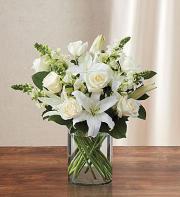 Classic All White arrangement
