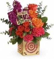 Birthday Sparkle Bouquet DX
