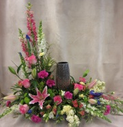 Sympathy Arrangement in Pinks