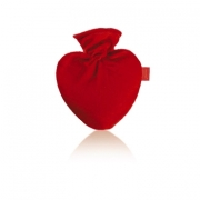 Heart Shaped Fashy Hot Water Bottle