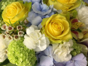 Yellow & Blue Bouquet