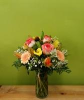 Orange Lily Arrangement