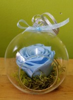 Baby Blue Rose Ball