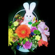 Easter Bunny Basket - Pink