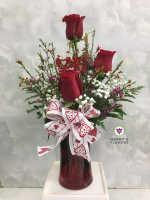 I Love You Valentine's Floral Arrangement