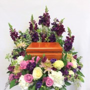 Custom Designed Cremation Box Arrangment