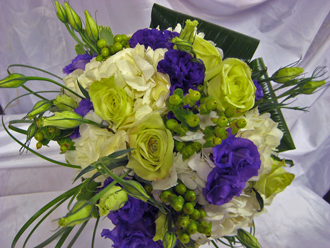 Lavender & Blue Bouquet