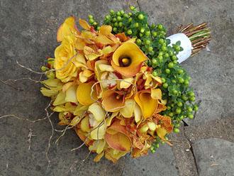 Calla & Orchid Bouquet