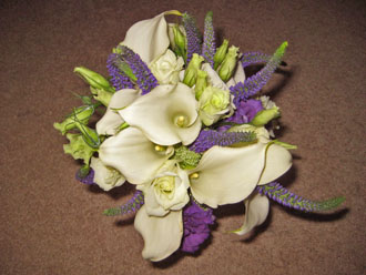 Veronica Lisianthus Bouquet