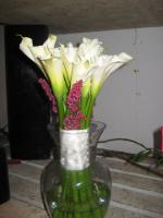 Calla's & Heather Bouquet