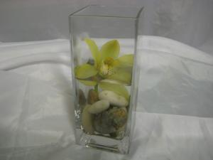 ORCHID STONES IN VASE
