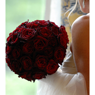 Black Magic Bride Bouquet