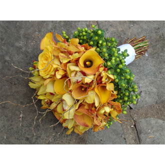 Callas, Orchids Bouquet