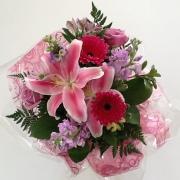 Pastel Handtied Bouquet