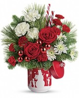 Teleflora's Snow Day Bouquet