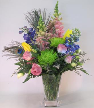 Pastel Mixed Vase