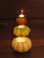 Pumpkin Votive Candle