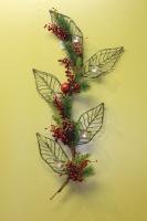 Decorative Wall Leaf Candle Holder