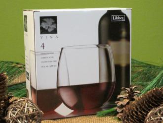 Red Wine Set of 4 Glasses
