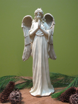 19in Decorative Praying Angel