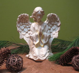 12in Decorative Praying Angel