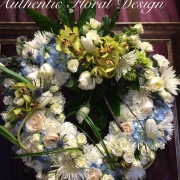 Angel Cloud Heart Wreath