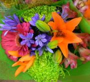 Bright Cut Flower Bouquet