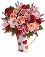 The Lovely Hearts Bouquet