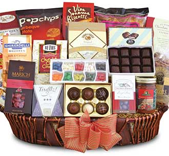 California Grand Gift Basket