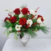 Flower Gallery Stunning Christmas Bouquet