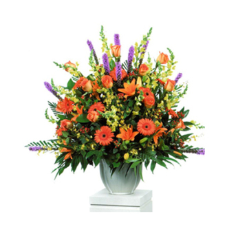 CARISMA FLORISTS®  Harvest Garden Arrangement Container