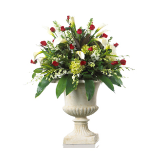 CARISMA FLORISTS® Rose & Orchid Container