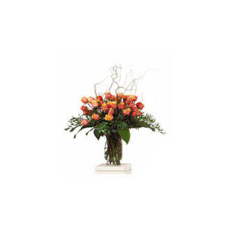 CARISMA FLORISTS® Rose Arrangement Vase