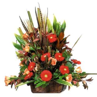 CARISMA FLORISTS® Autumn Table Basket