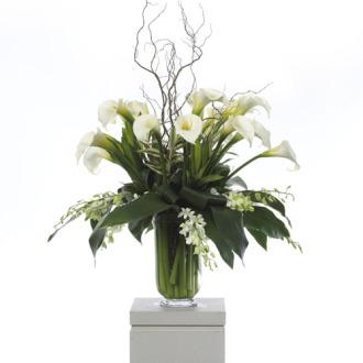 CARISMA FLORISTS® White Calla Lilies