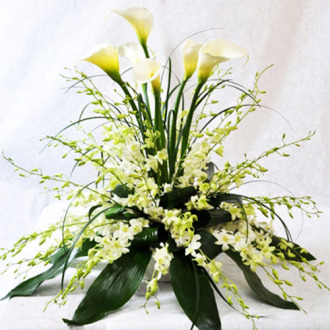 Carisma Florists® The Pristine Bouquet