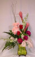 Welcome Baby Girl arrangement