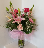 Sweet Exotique Rose Vase