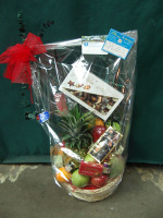 Gourmet Chocolate and Fruit Basket