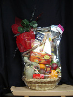 Fruit and Gourmet Cookie Basket