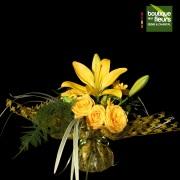 Bouquetto jaune Soleil