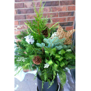 Outdoor Winter Planter