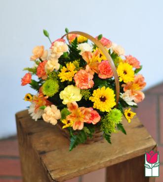 beretania florist emma basket honolulu hawaii flower basket delivery