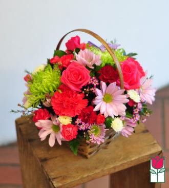 beretania florist olivia basket honolulu hawaii flower basket delivery