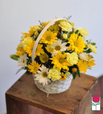 beretania florist Aubry basket
