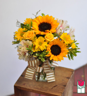 beretania florist sunset bouquet