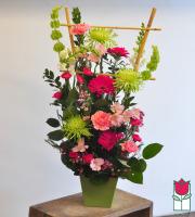 Beretania florist pinky contemporary spring arrangement