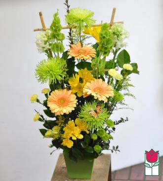 beretania florist maria contemporary spring arrangement